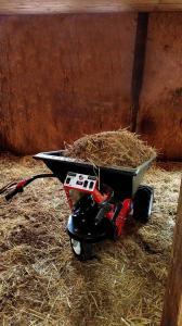 Bedding Horse Barn