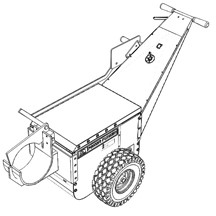 Railroad truck attachment without extension
