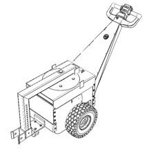 Quinta rueda con conector de altura ajustable