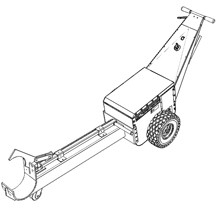 Rail dolly attachment with extension