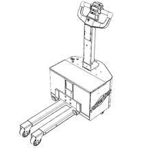 Dual leg tug, standard lift arrangement