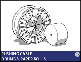 06-EN-pushing-cable-drums-paper-rolls-01