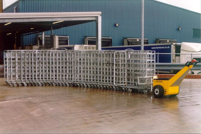 Electric Tugs for Moving Loads on Carts | Electric Cart Tuggers