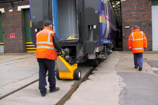 Electric Pushers and Tugs for Railroad | Railcar Mover