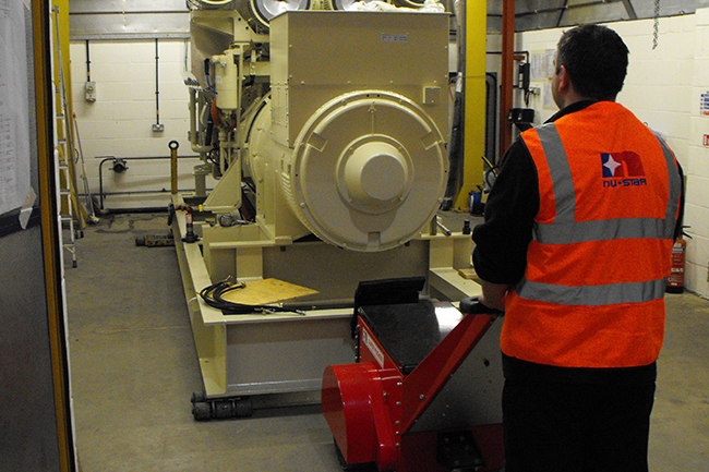 Move Heavy Loads on Industrial Machine Rollers