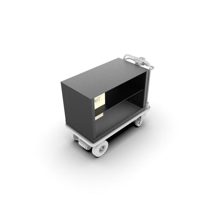 Motorized, Battery-Powered Platform Cart | Material Handling Cart