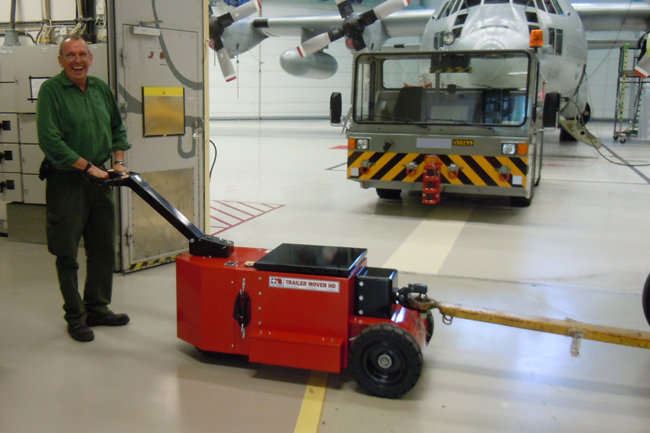 Heavy Duty Trailer Mover by Power Pusher