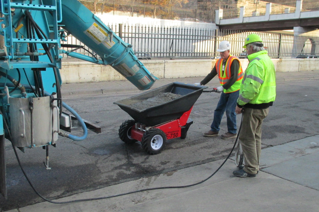 Electric Wheelbarrow for Construction | Moving Heavy Construction Loads