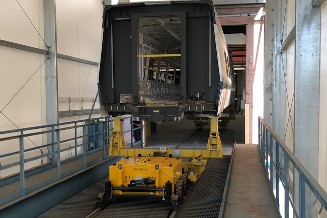 Railcar Mover | Pull and Push Railcars Up To 450K Lbs.