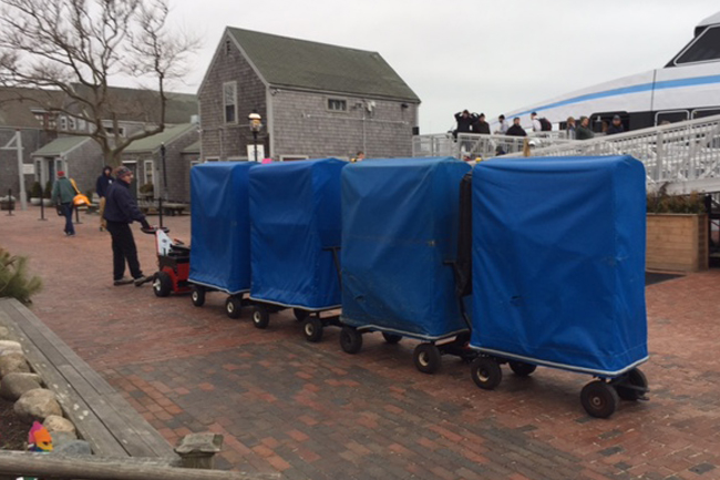 Electric Tugs and Dollies for Moving Aircraft and Boat Trailers