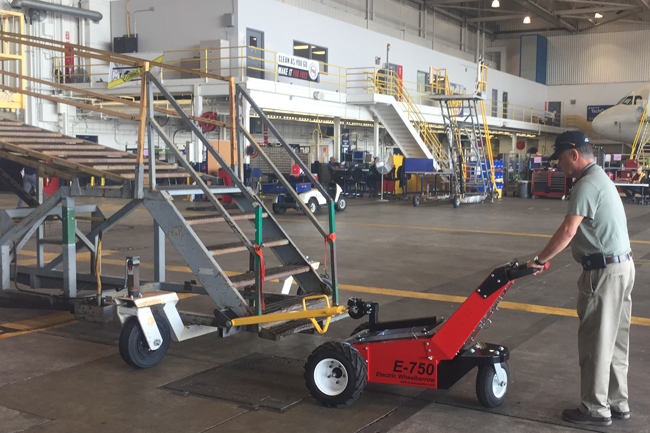 Electric Tugs, Tows and Pushers for Aircraft Equipment