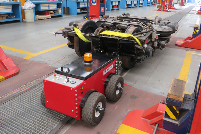 Remote-Controlled Electric Pushers and Tugs