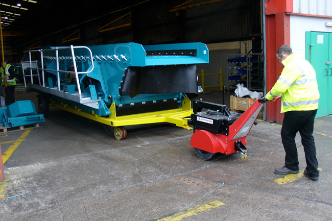 Electric Tugs for Warehouse, Industrial and Manufacturing Applications