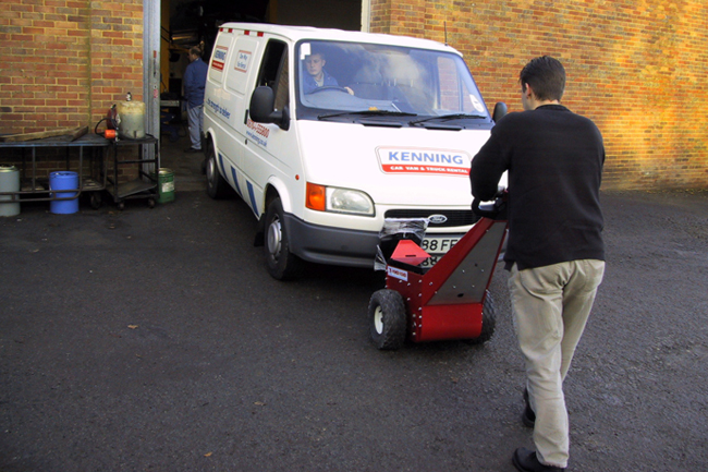 Electric Vehicle Pusher | Push Vehicles Up To 18,000 Lbs.
