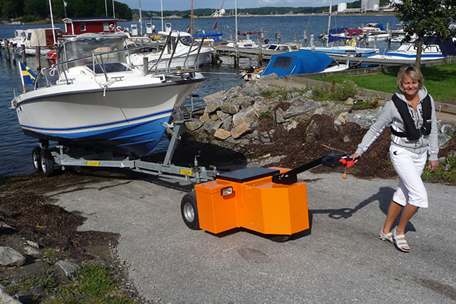Electric Trailer Tug | Trailer Mover | Electric Tugs for Moving Trailers