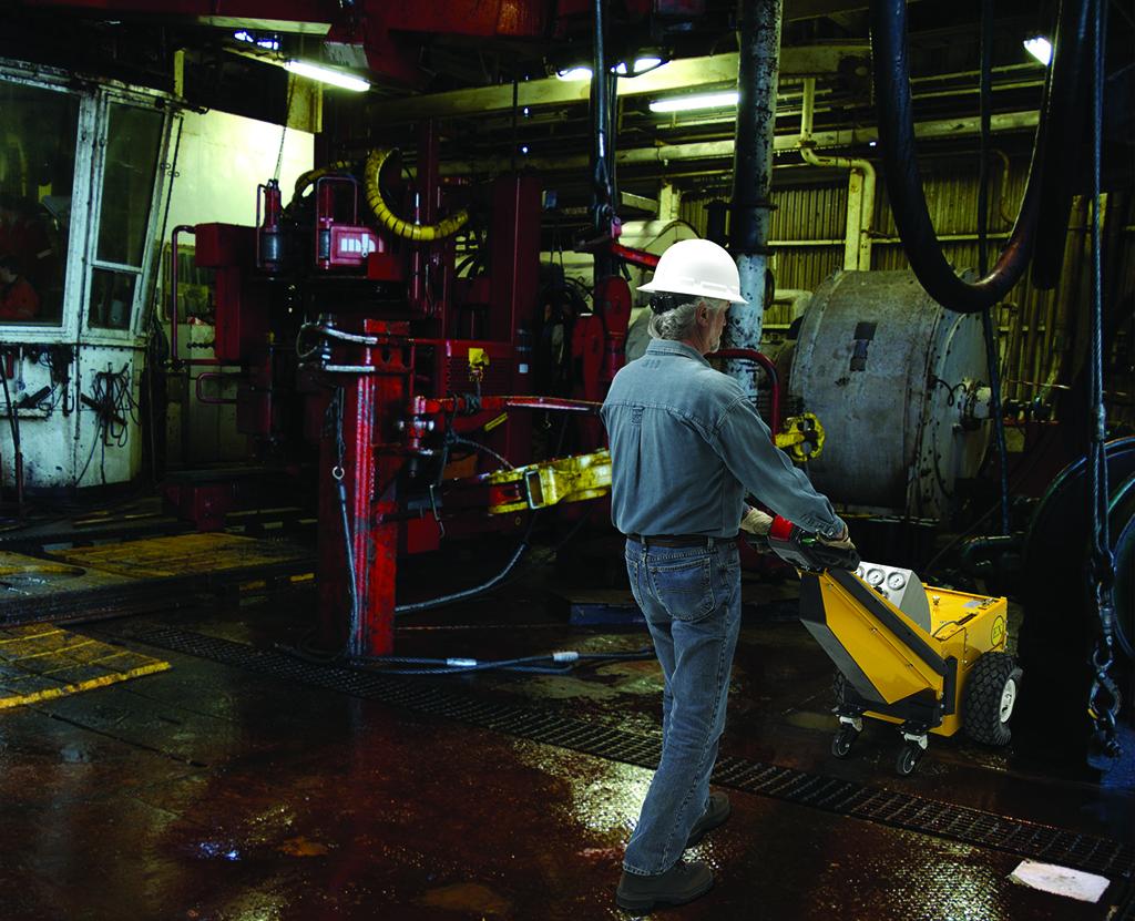 Heavy-Duty Industrial Tugger | Hazardous Duty Power Pusher