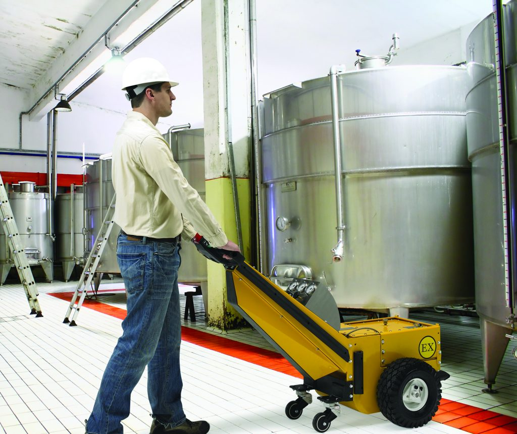 Moving Loads In Hazardous Environments | PowerPusher®