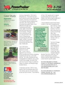 Power-Pusher-E-750-Timberland-Case-Study Page 2