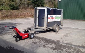 Trailer-Mover-with ball-hitch-and-single-axle-trailer
